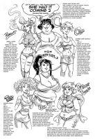 She Had It Coming 2 PV Character Guide by TheAmericanDream