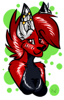 Headshot Example (finished~) by RedCatArtist