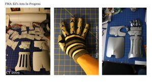 FMA: Ed Arm In Progress by CT02