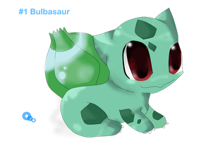 Bulbasaur by Meowy-Pixel