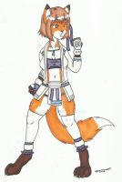 Rin Oyama, the Fox by cqmorrell