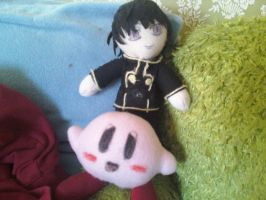 Lelouch and Kirby by MoonLightXAngel268