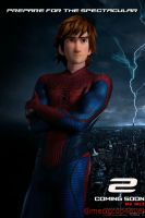 The amazing spiderman httyd 2 au by mericcup4ever