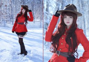 RCMP inspired uniform by AngelaClaytonCosplay