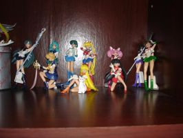 Sailor Moon Figures by Puja723
