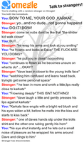 Karkat can not handle Dave's power of swag by tweeterstwin