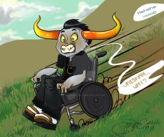 Tavros by Shadowtangent