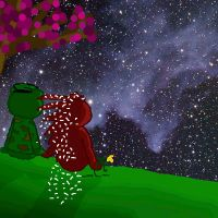 HTF Watching the Stars... by DoggyLover94