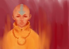Aang (redone) by thewordlesssignature