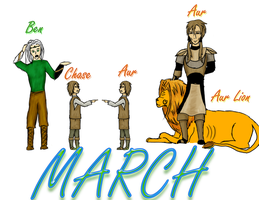 March by WolvenBane08