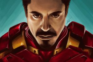Tony Stark (A.K.A. Iron Man) by ARTdesk