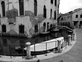 Venice in black and white 2 by KayTeez