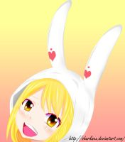 Fairy tail - Lucy Bunny by sharknex