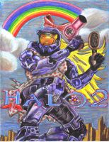 What if more girls played Halo by LisaDaTimberwolf