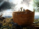 Noah's Ark - After the Flood by jesus-at-art