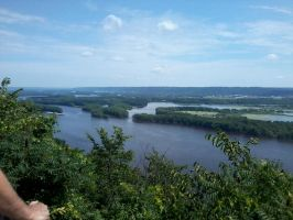 Pikes Peak- Lookout point to mississippi river by shishiwikert