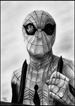 70s Spider-man by foxartsbrazil