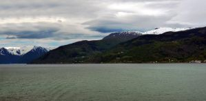 Sailing the fjords to Skjolden 27 by abelamario