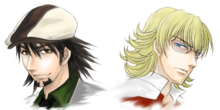 TIGER and BUNNY by ploua