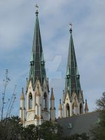 Two Steeples by CAMeo-Artworks