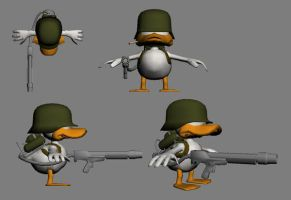 W.I.P - Toilet Duck by RetroMike