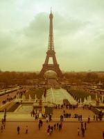 Eiffel Tower by Diesel17