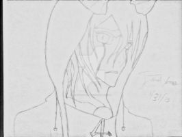 Ulquiorra with a Hoodie by Artisticgram