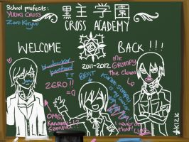 Welcome back at Cross Academy by k1216