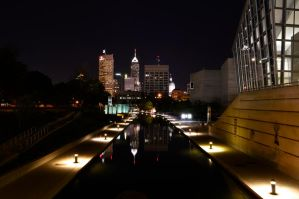 Indy at Night by m-faccone