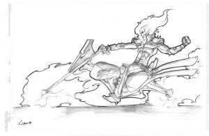 Ghost Rider by GavinMichelli