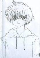 CCS Li Syaoran Drawing by Aokaji21