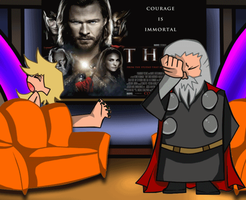 .::Thorki::. talk show by TheBlackJacket
