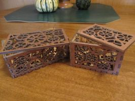 Clockwork Boxes (2nd and 3rd) by MercuryCrest