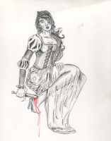 The Girl Obeyed And Swallowed The Pain by fireburner543