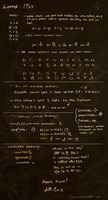 Lienx Alphabet by Keprion