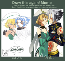 Draw this again Meme by Reicandy