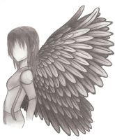 faceless angel by harasi