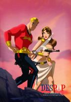 Flash Gordon Art By Des Taylor by DESPOP