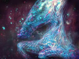 Space Horse by RuslanKadiev
