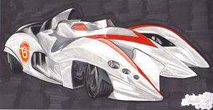 Speed Racer - Mach 6 by DarkNevermore13