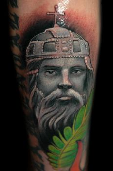 Stephan the first by redliontattoo