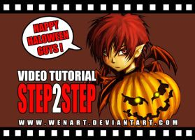 Haloween step2step video V.2.0 by Wenart
