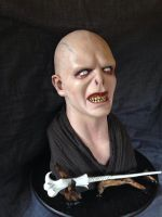 Voldemort Bust Painted by Bucephallus by XtcofPain