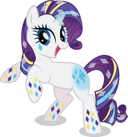Rainbow Power Rarity by benybing