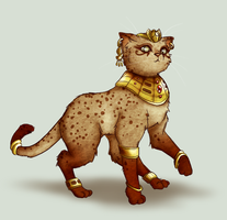 Egyptian Cat by trowicia