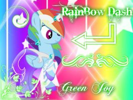 Green Joy~ by Mobin-Da-Vinci