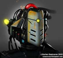 Robothead by face-in-the-sky