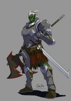 Commission Orc by tantaku