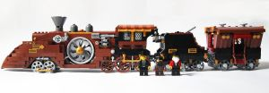 LEGO. Steam Train by DwalinF