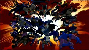 ALL ANIMATED BATMEN by BTRforeverPOM